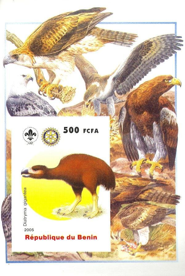 Stamps with Bird, Scouting, Dinosaurs, Rotary from Benin (non official) (image for product #030380)