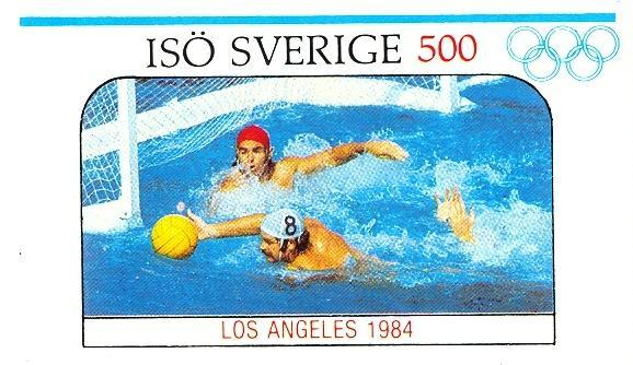 Stamps with Olympic Games, Waterpolo from  (image for product #030500)