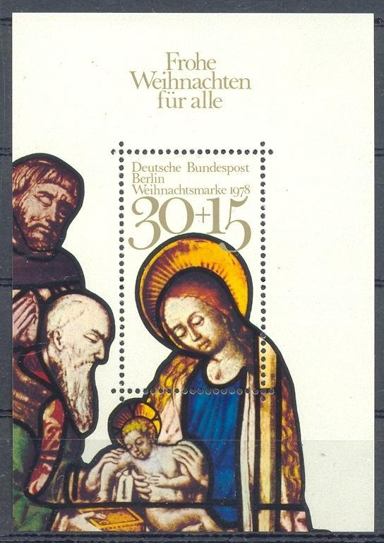 Stamps with Christmas, Art from Germany (image for product #031762)