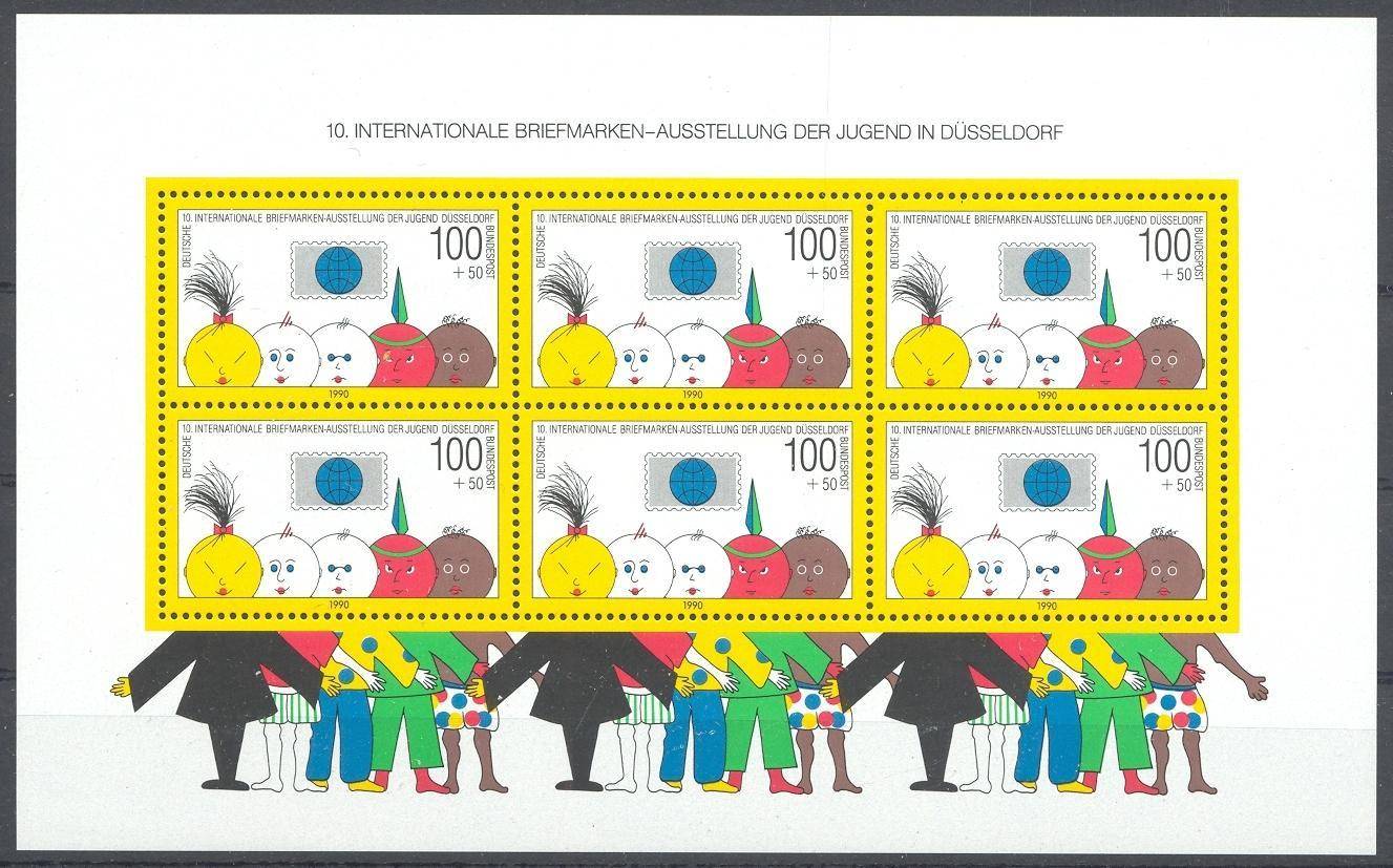 Stamps with Youth, Children from Germany (image for product #031804)