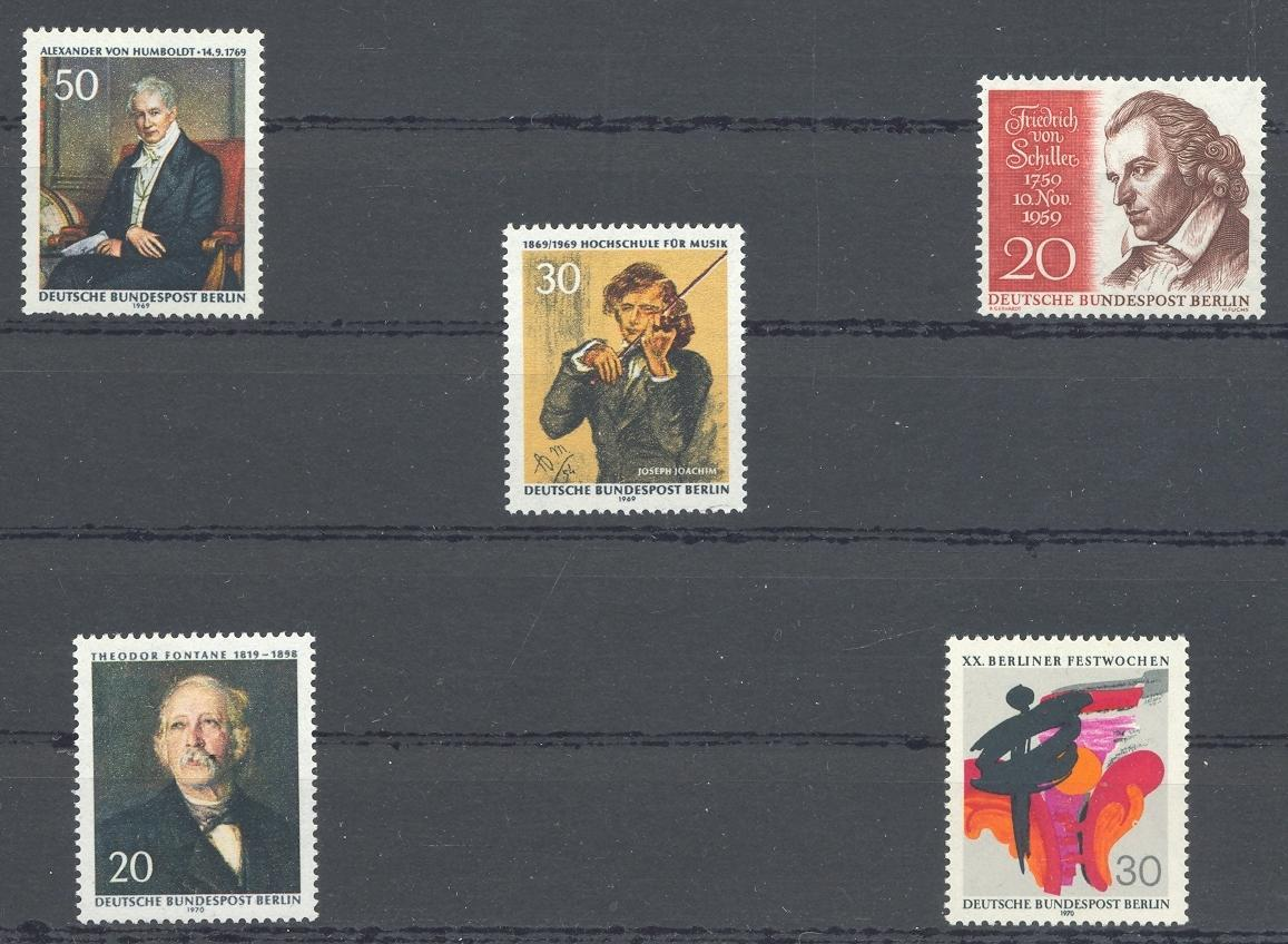 Stamps with Famous Persons from Germany (Berlin) (image for product #031832)
