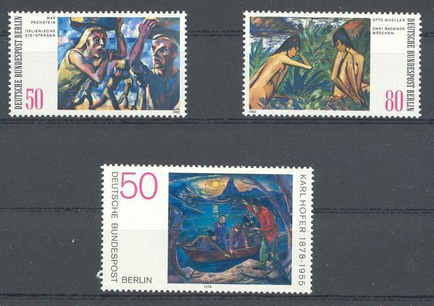 Stamps with Art from Germany (Berlin) (image for product #031834)