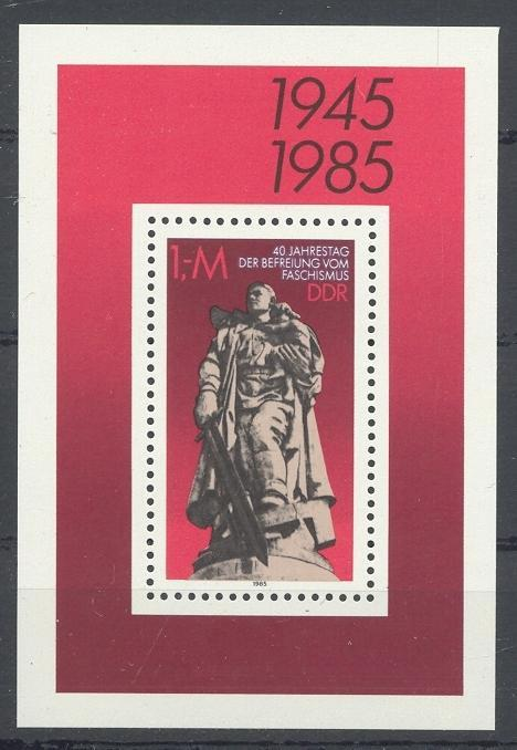 Stamps with Statue from Germany (DDR) (image for product #032009)