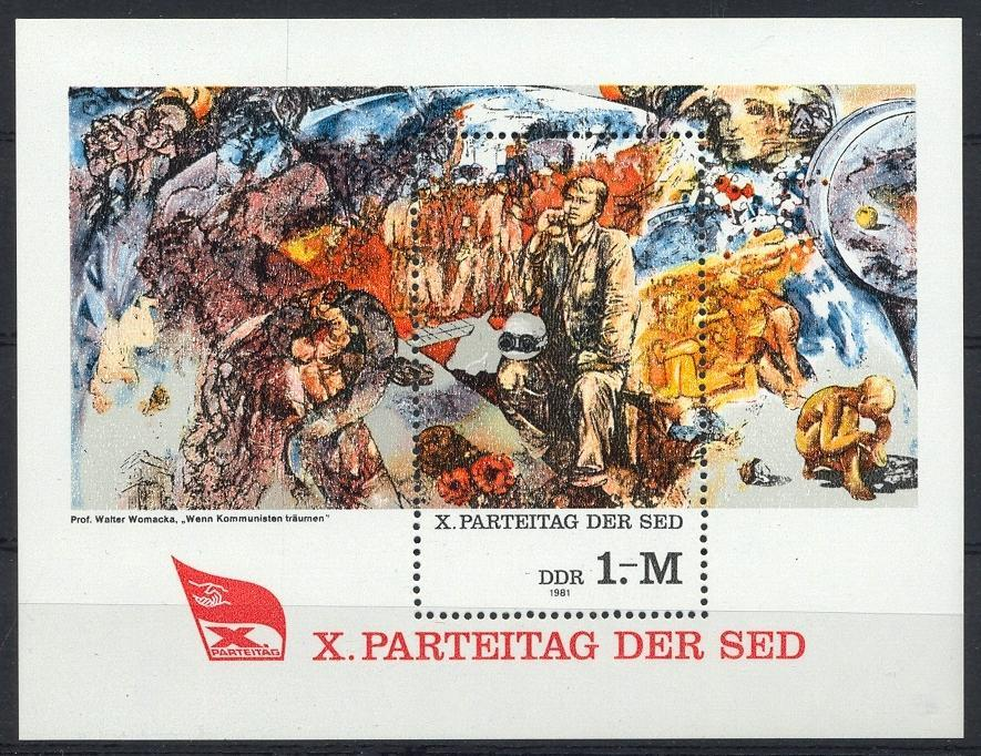 Stamps with Art from Germany (DDR) (image for product #032025)