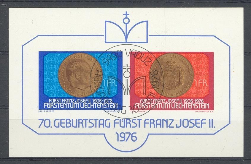 Stamps with Royalty, Coins / Banknotes from Liechtenstein (image for product #032045)