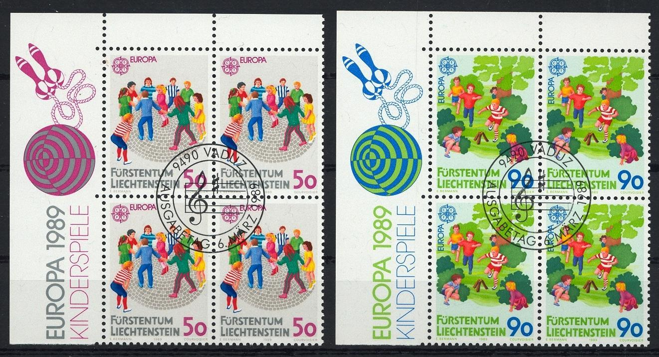 Stamps with Games, Europe CEPT from Liechtenstein (image for product #032061)