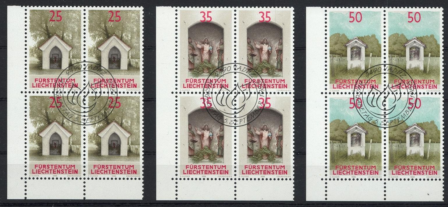 Stamps with Religion, Church from Liechtenstein (image for product #032071)