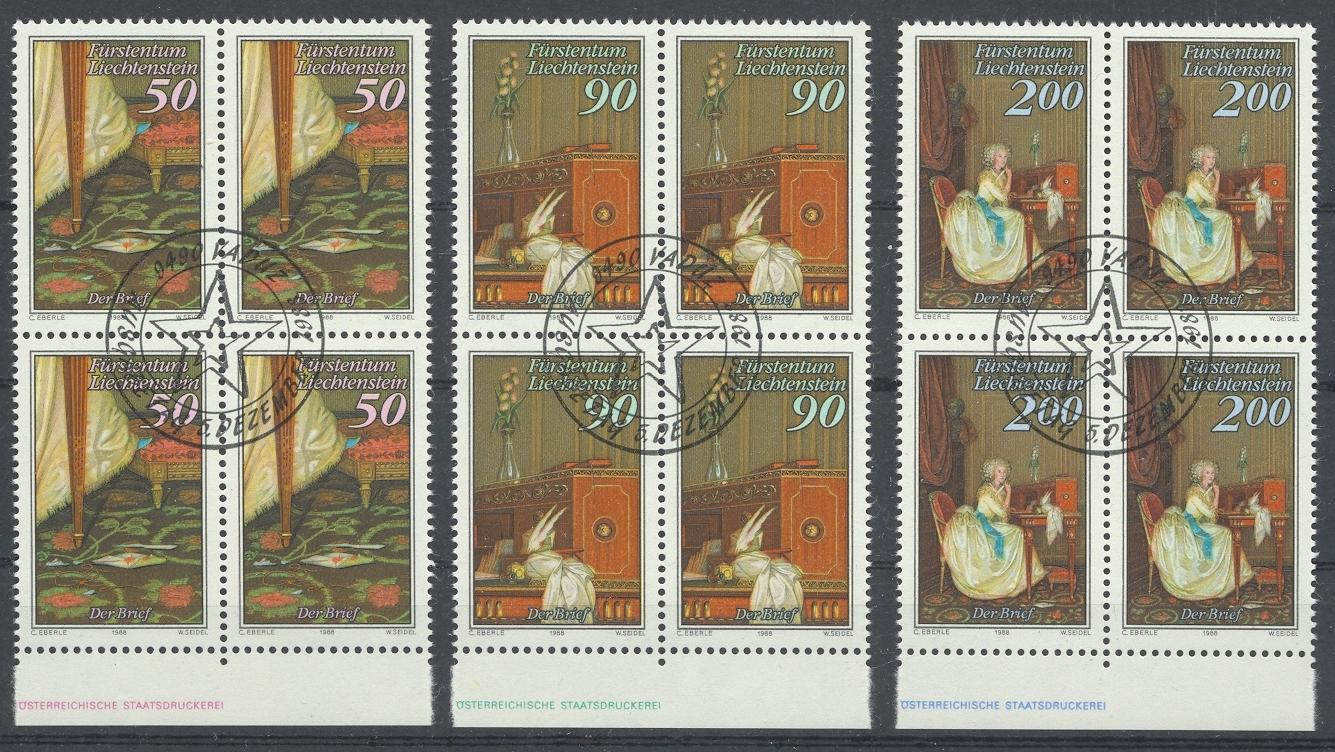 Stamps with Art from Liechtenstein (image for product #032074)