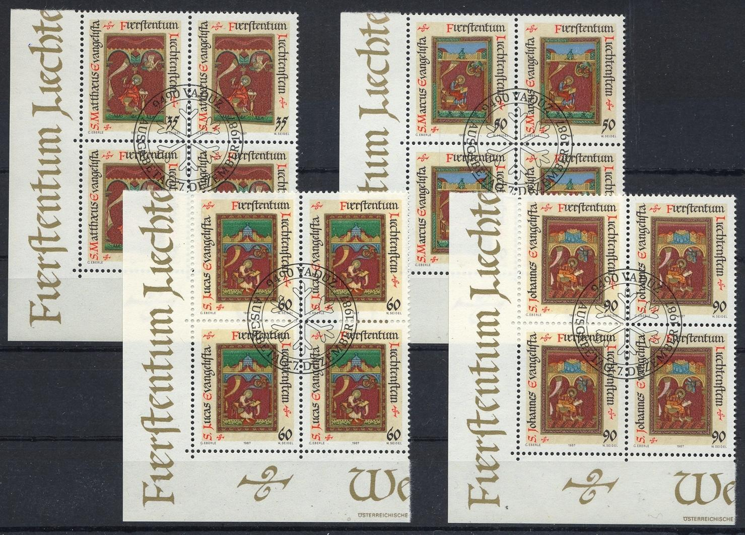 Stamps with Art, Manuscript from Liechtenstein (image for product #032075)