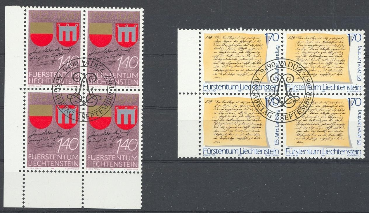 Stamps with Coat of Arms from Liechtenstein (image for product #032076)