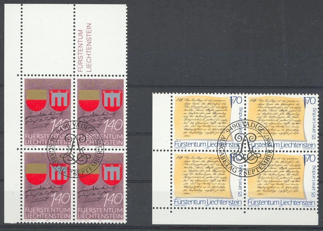 Stamps with Coat of Arms from Liechtenstein (image for product #032077)