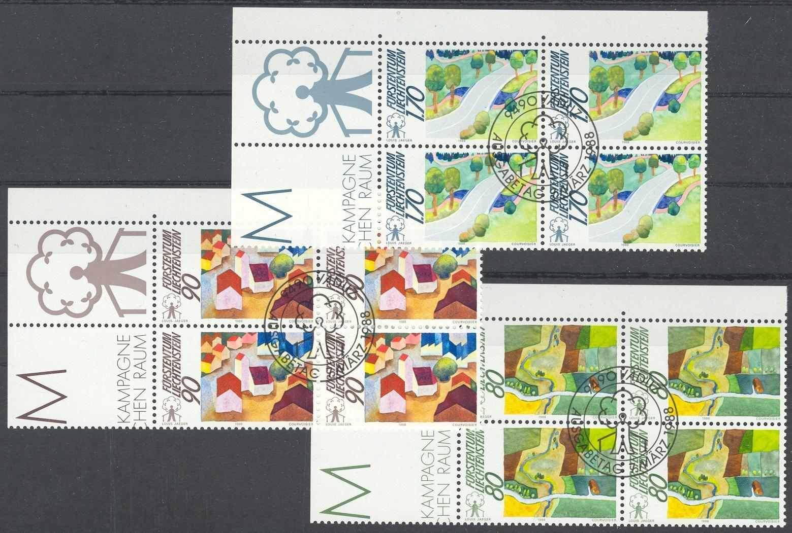 Stamps with Landscapes from Liechtenstein (image for product #032080)