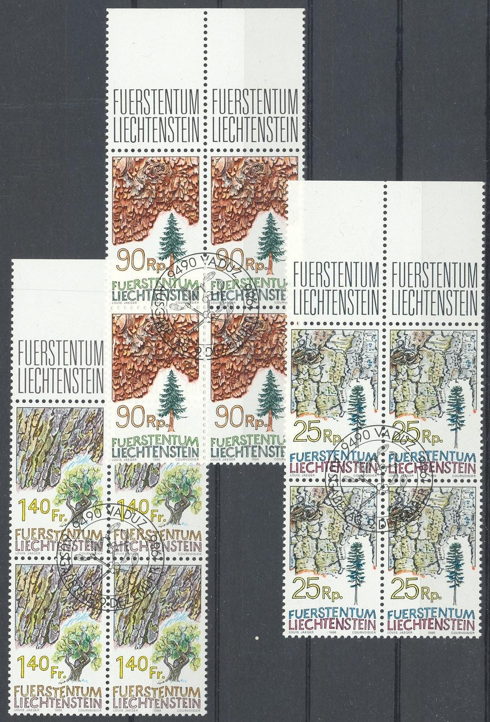 Stamps with Tree from Liechtenstein (image for product #032082)