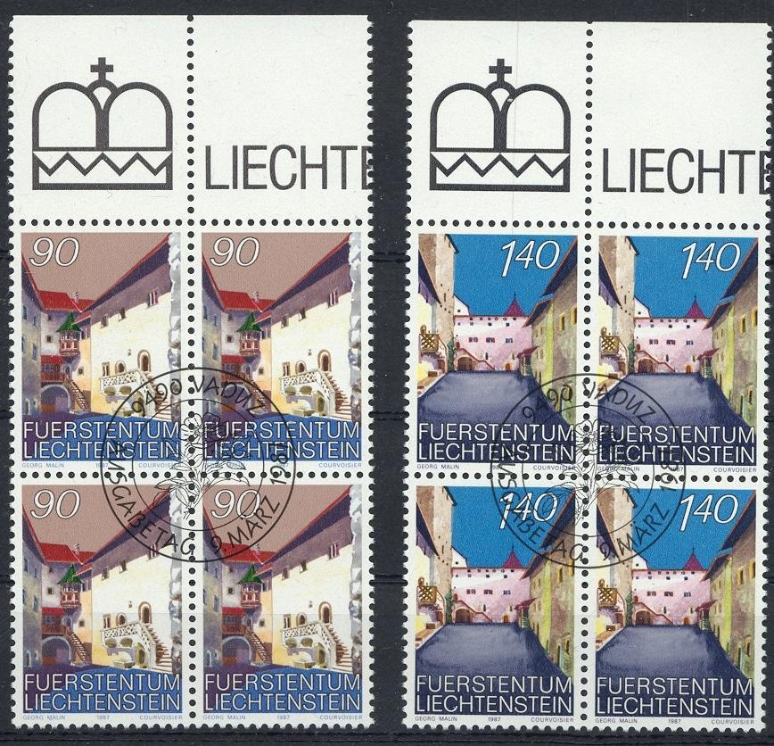 Stamps with Buildings from Liechtenstein (image for product #032083)