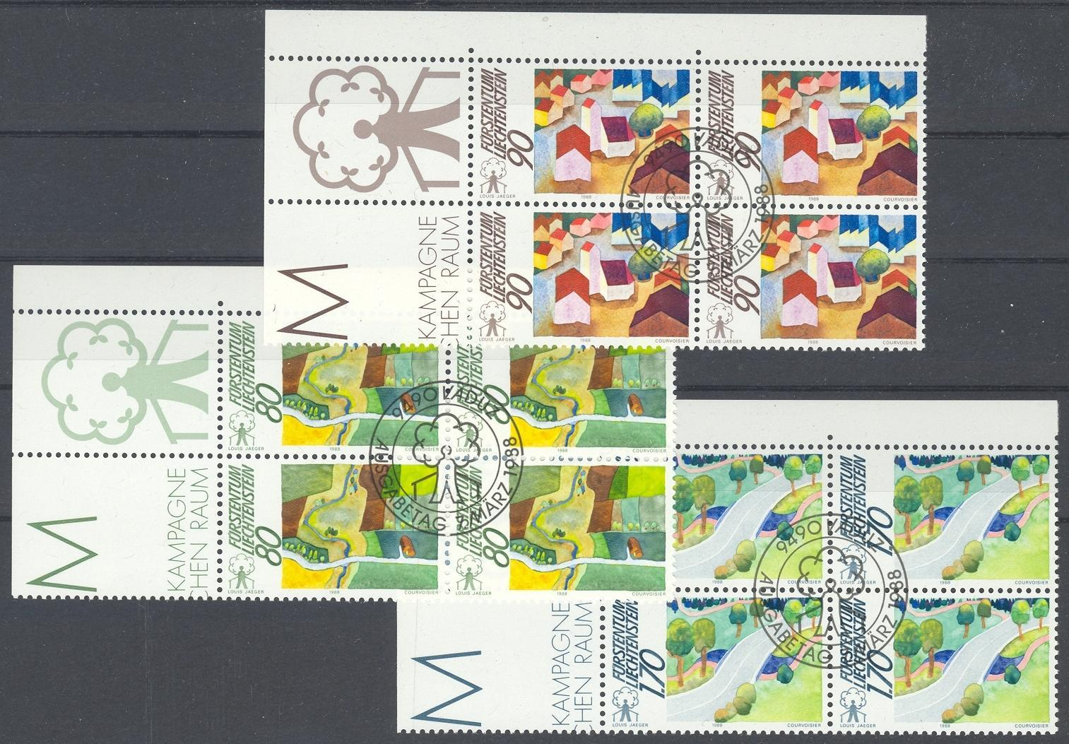 Stamps with Landscapes from Liechtenstein (image for product #032085)
