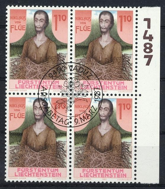 Stamps with Famous Persons from Liechtenstein (image for product #032086)