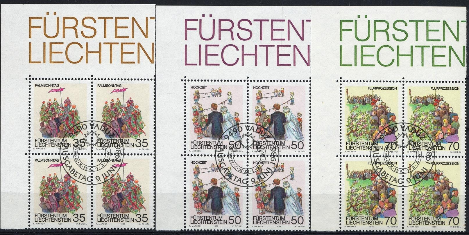 Stamps with Religion, Wedding from Liechtenstein (image for product #032092)
