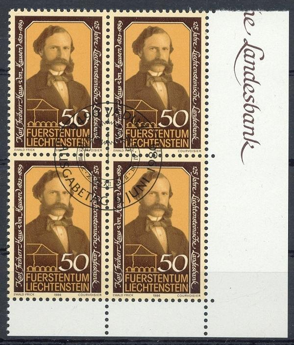 Stamps with Famous Persons from Liechtenstein (image for product #032093)
