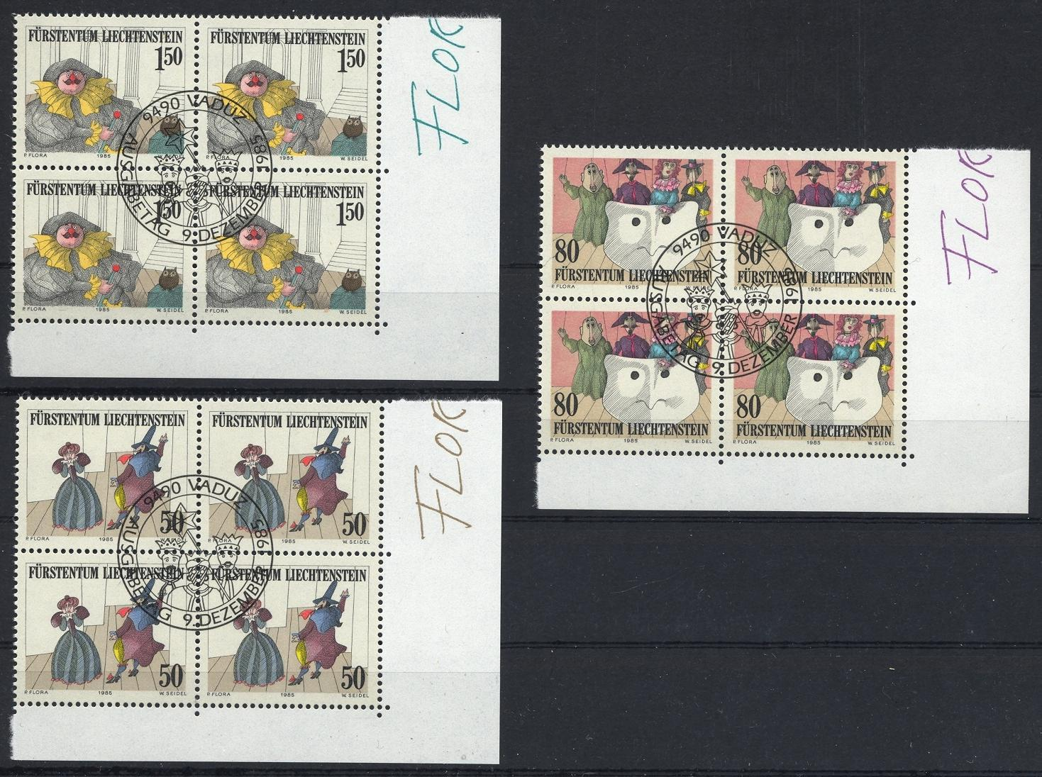 Stamps with Puppet from Liechtenstein (image for product #032103)