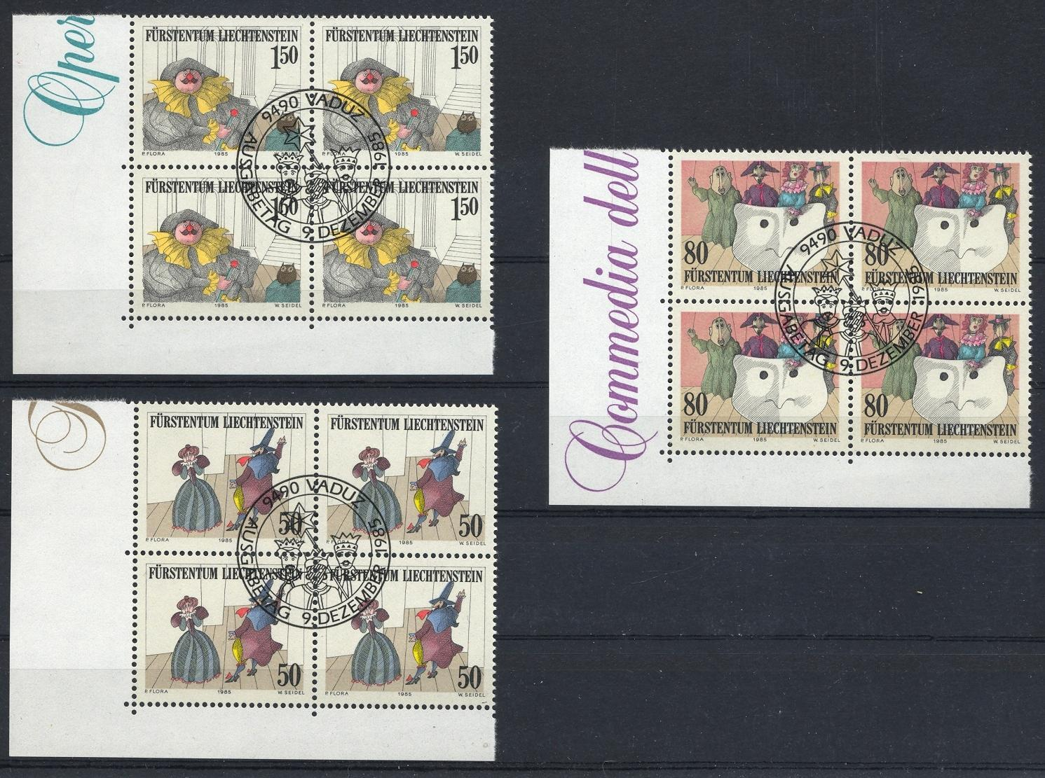 Stamps with Puppet from Liechtenstein (image for product #032104)