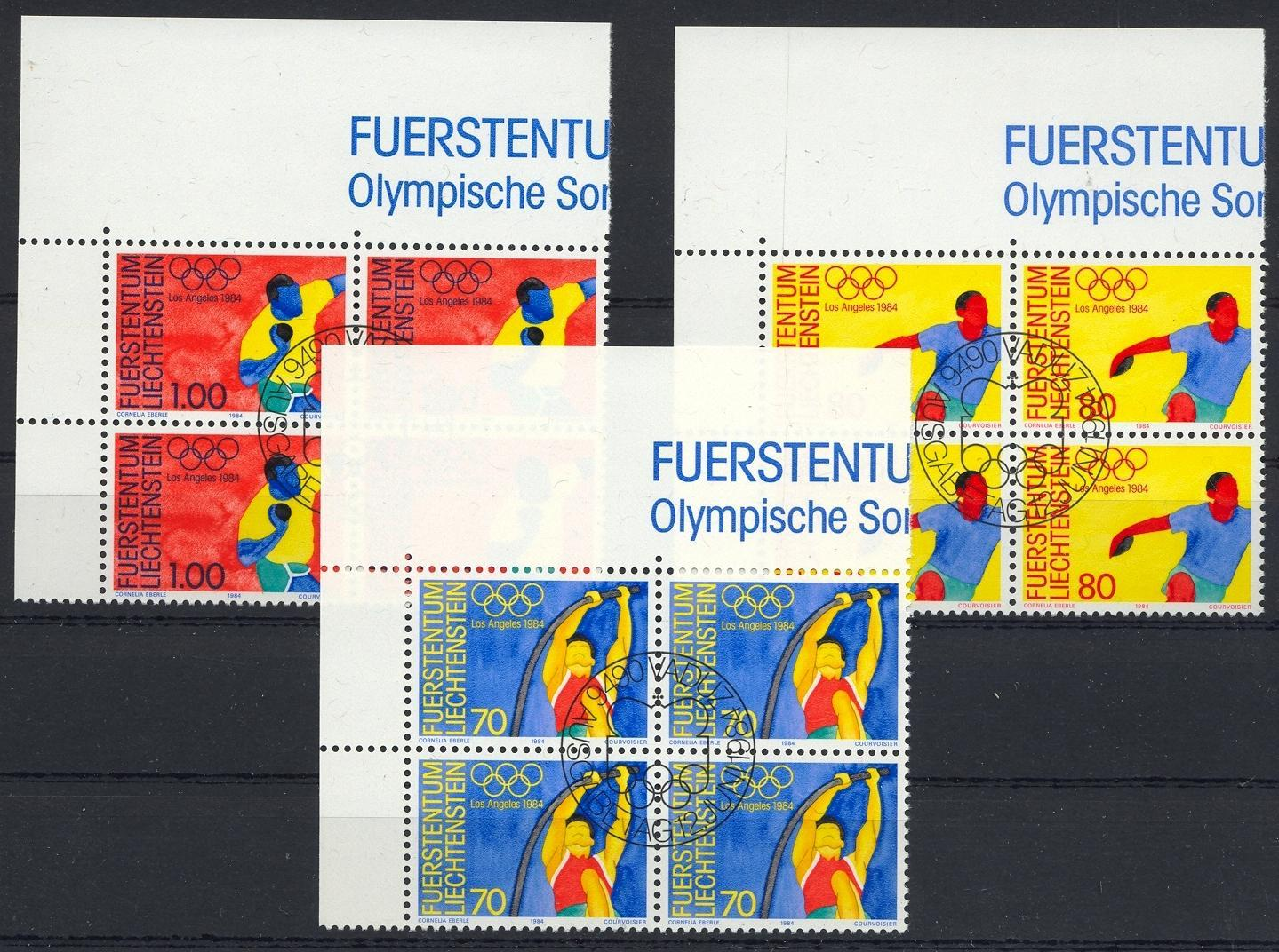 Stamps with Pole Vault, Olympic Games from Liechtenstein (image for product #032109)