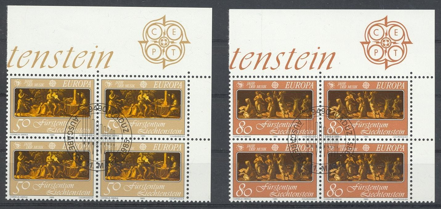 Stamps with Art, Europe CEPT from Liechtenstein (image for product #032112)