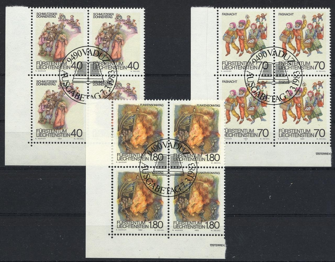 Stamps with Festival, Folklore / Fables from Liechtenstein (image for product #032115)