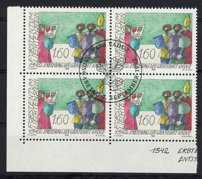 Stamps with Coat of Arms from Liechtenstein (image for product #032122)