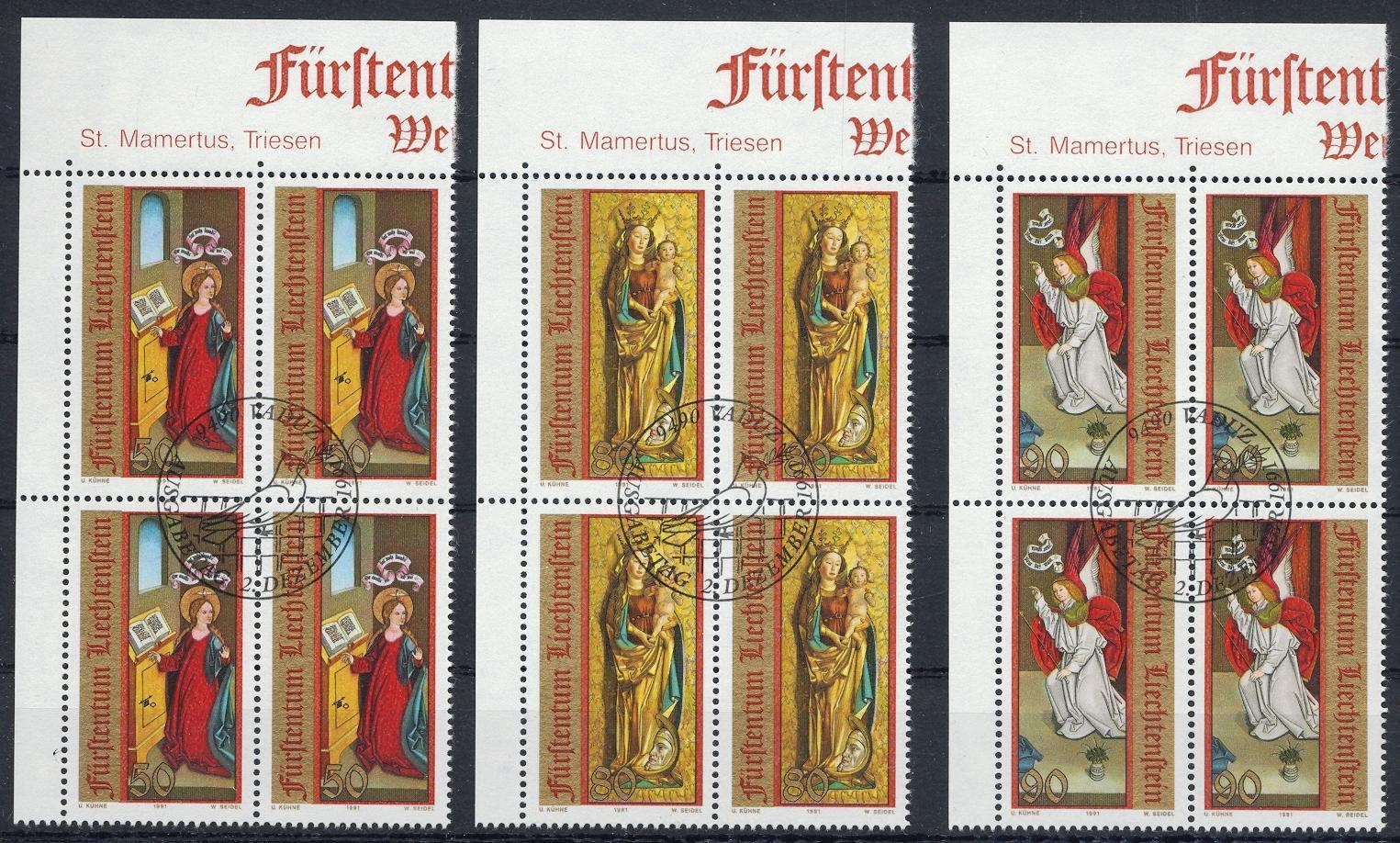 Stamps with Religion, Art from Liechtenstein (image for product #032133)