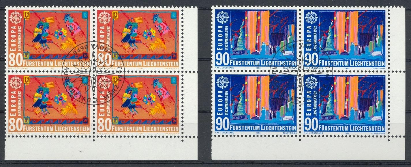 Stamps with Europe CEPT from Liechtenstein (image for product #032135)