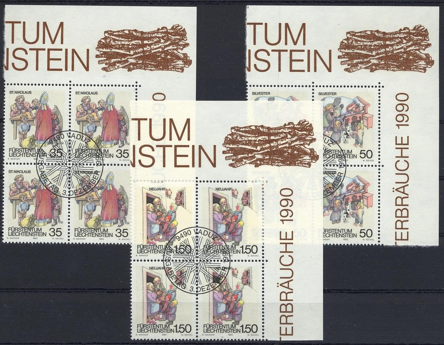 Stamps with New Year, Festival from Liechtenstein (image for product #032136)