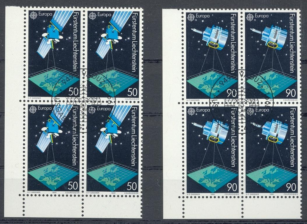 Stamps with Space, Europe CEPT from Liechtenstein (image for product #032137)