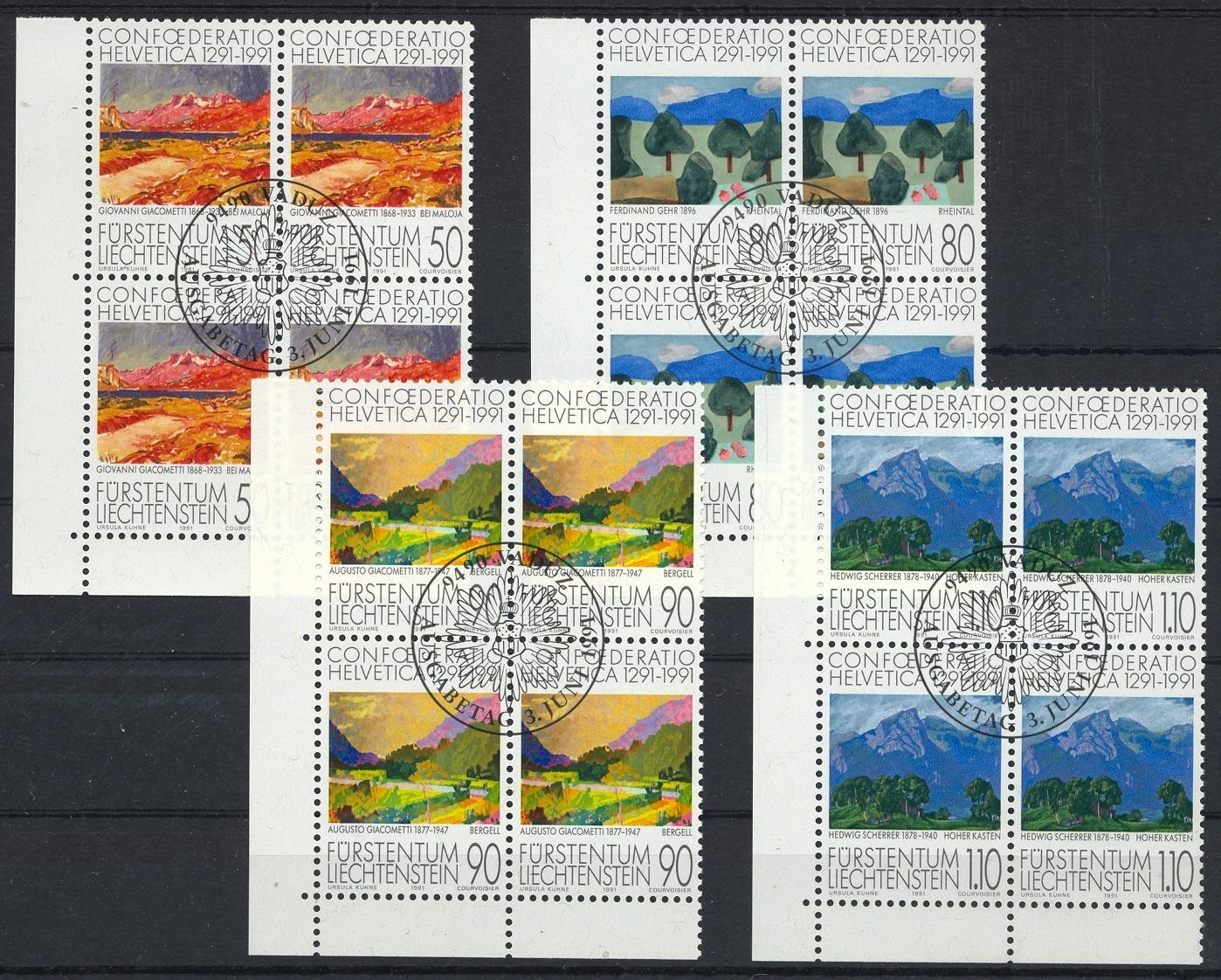Stamps with Landscapes from Liechtenstein (image for product #032140)