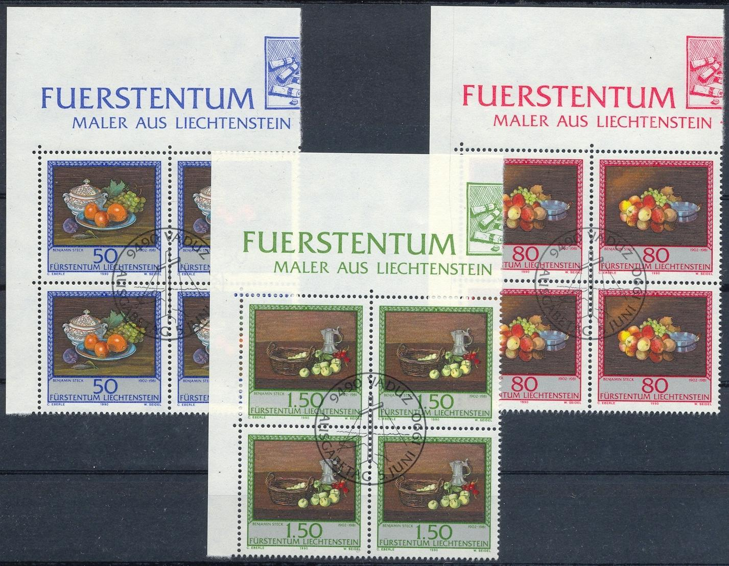 Stamps with Fruits, Art from Liechtenstein (image for product #032142)