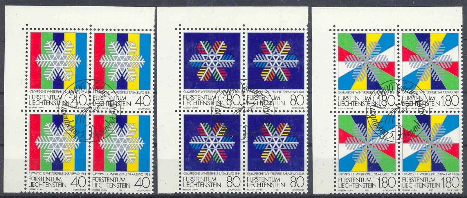 Stamps with Olympic Games from Liechtenstein (image for product #032161)