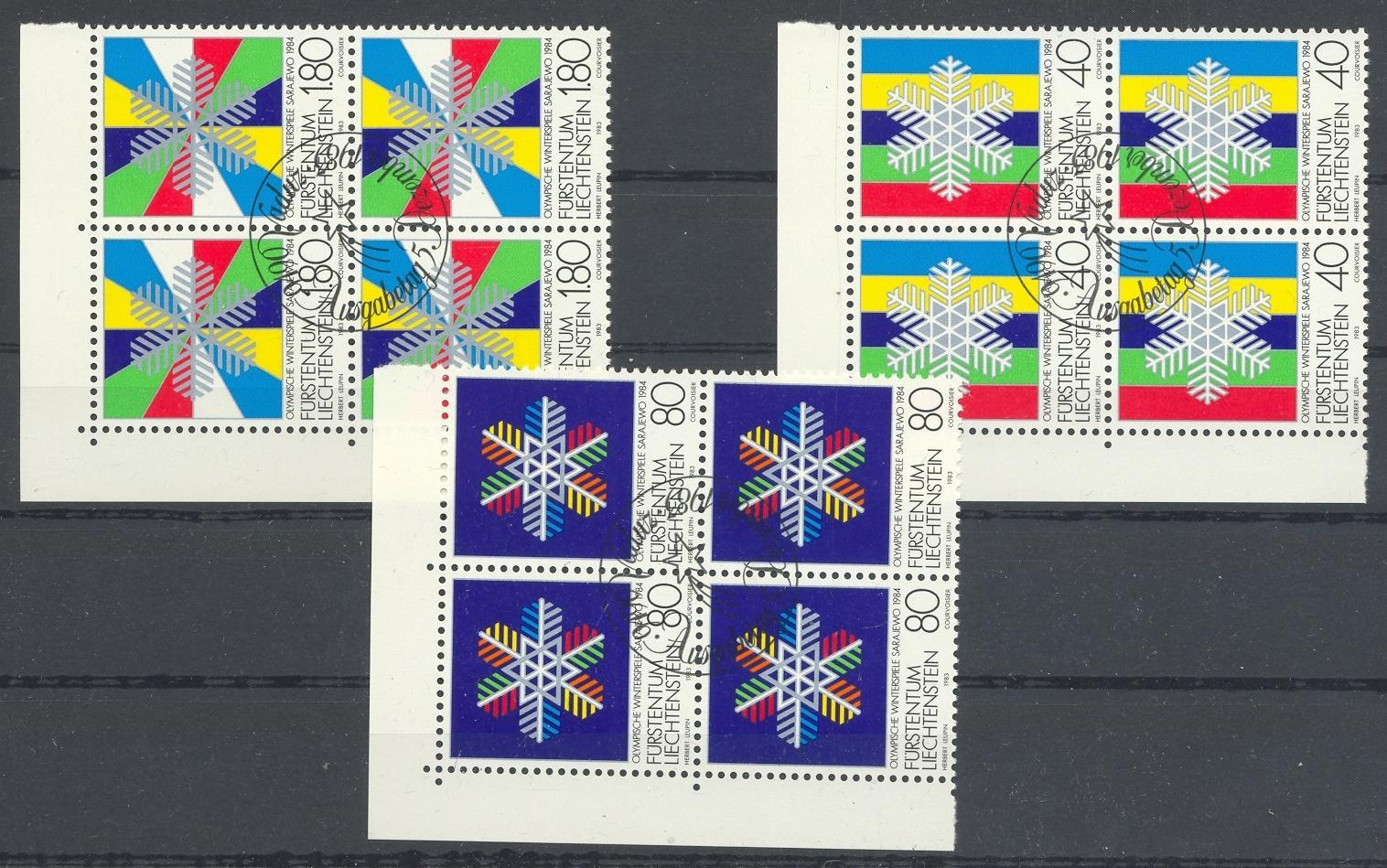 Stamps with Olympic Games from Liechtenstein (image for product #032162)