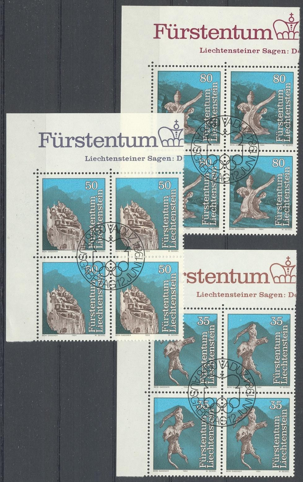 Stamps with Art, Nature from Liechtenstein (image for product #032166)