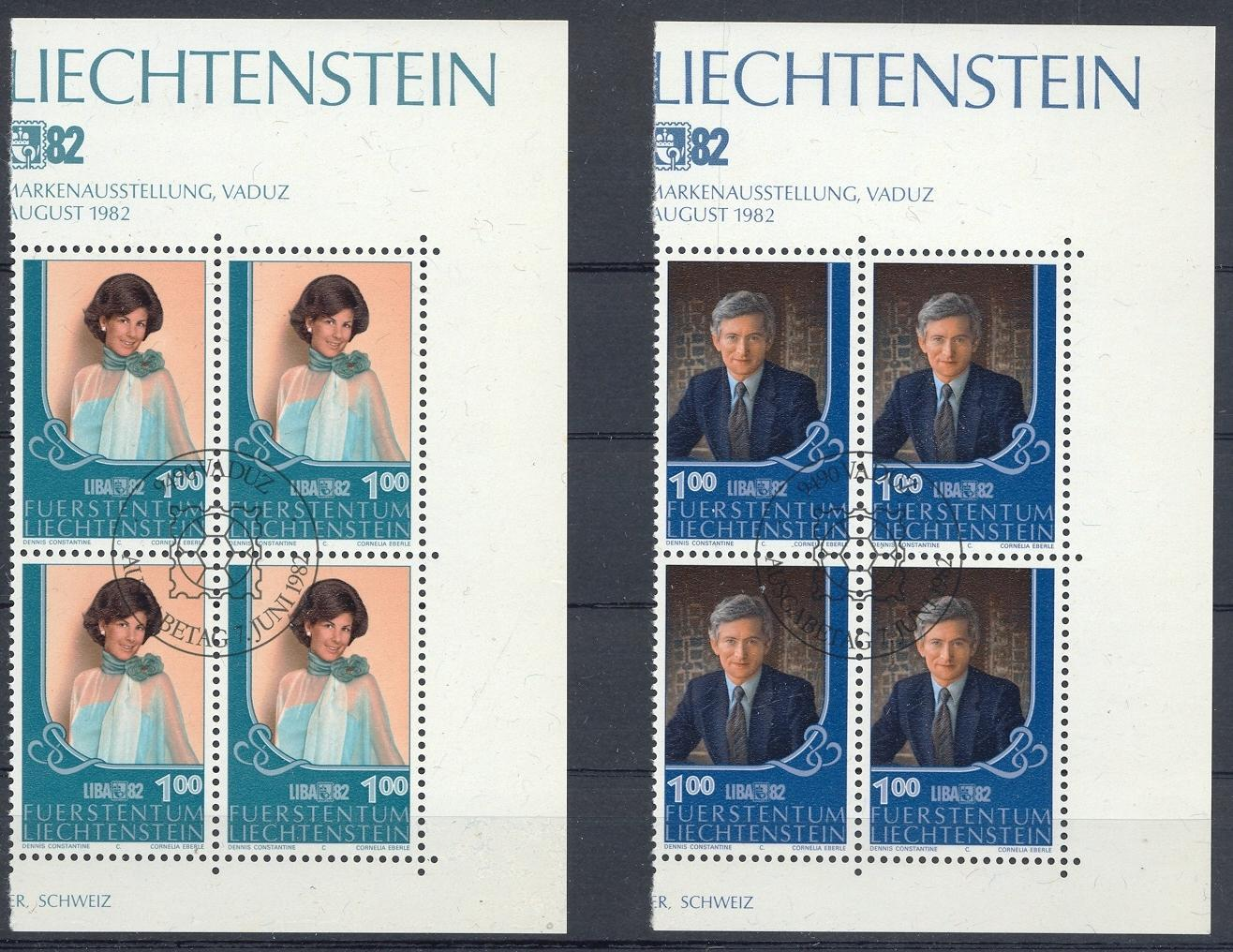 Stamps with Royalty from Liechtenstein (image for product #032167)