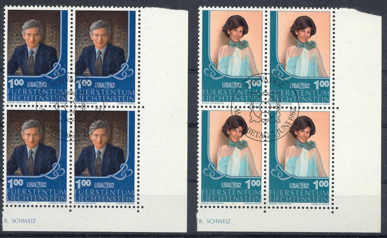 Stamps with Royalty from Liechtenstein (image for product #032168)