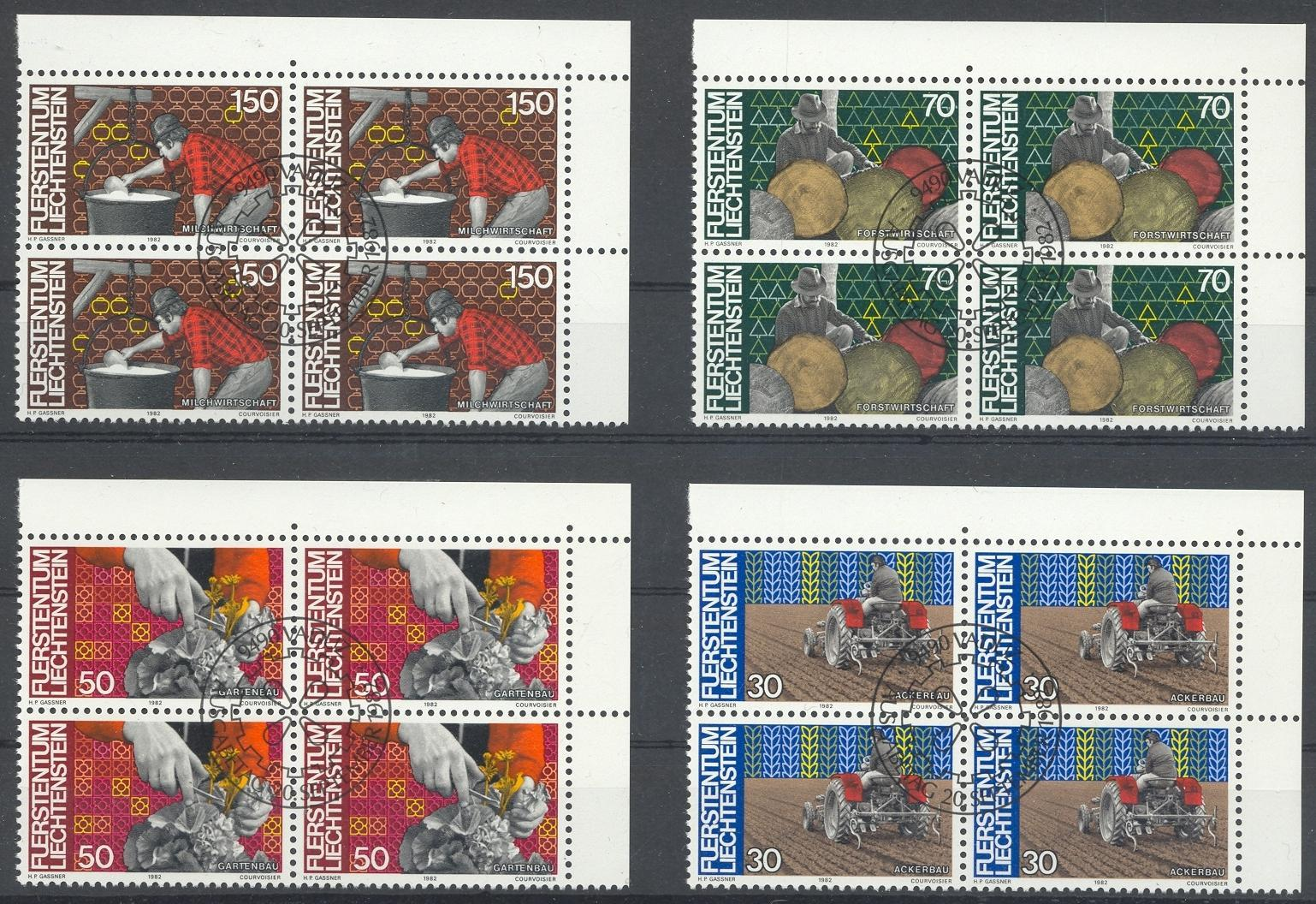 Stamps with Agriculture, Trades from Liechtenstein (image for product #032172)