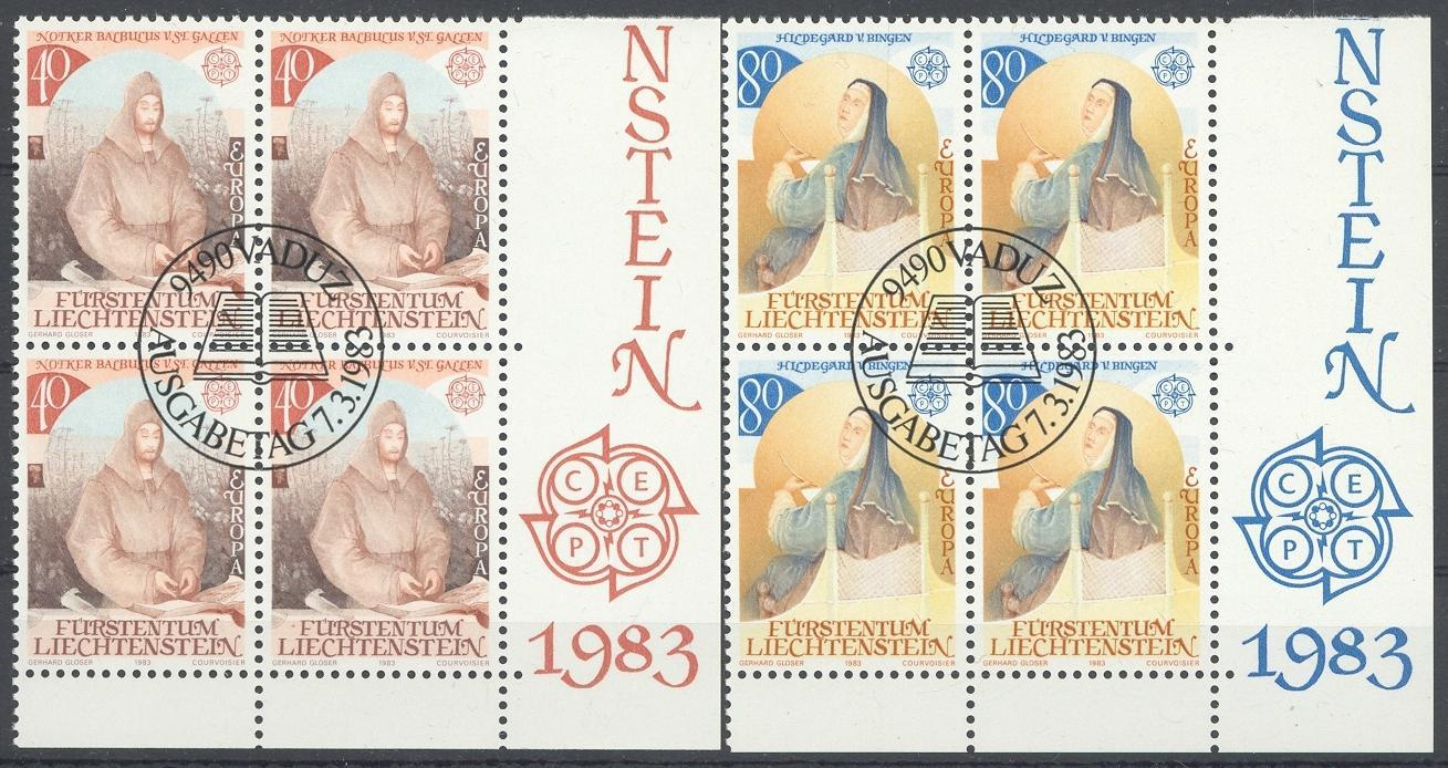 Stamps with Religion, Europe CEPT from Liechtenstein (image for product #032174)