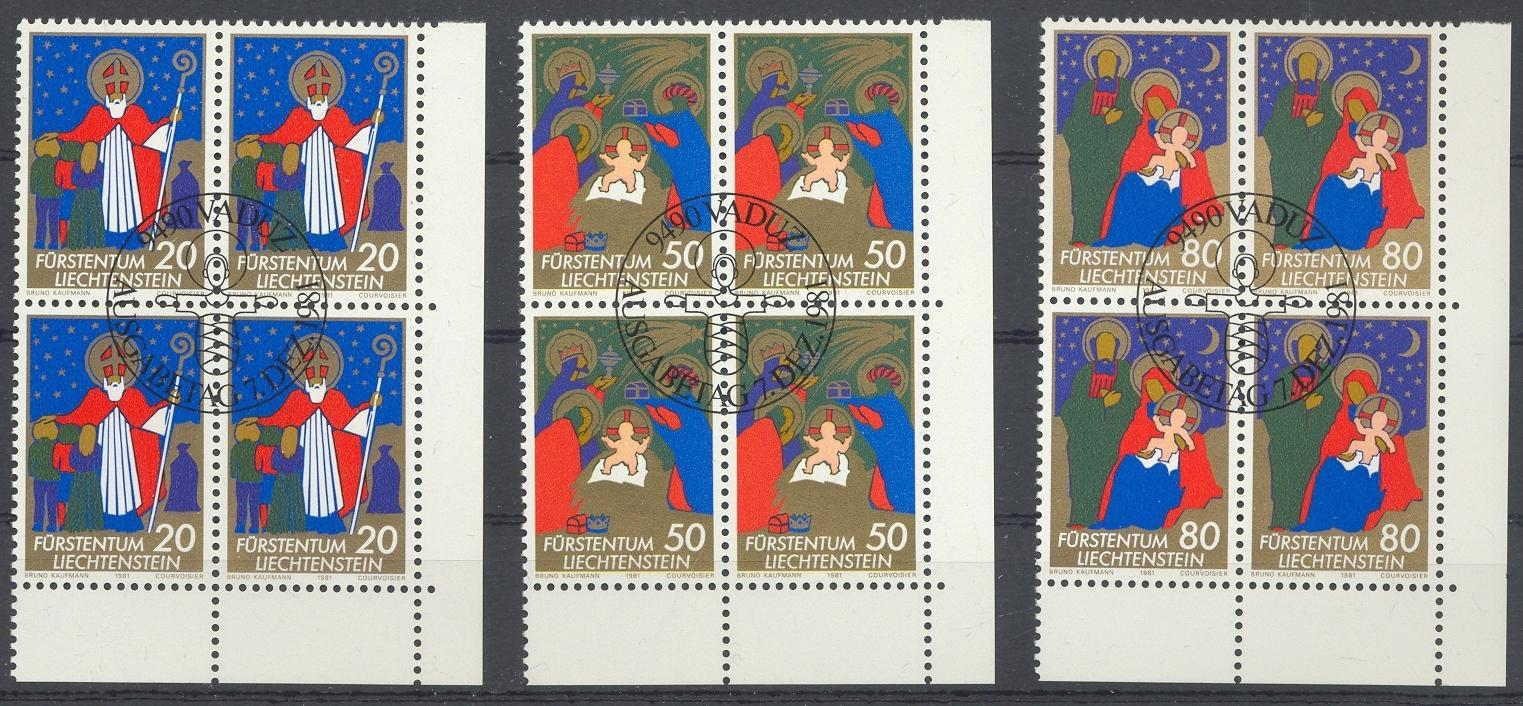 Stamps with Christmas from Liechtenstein (image for product #032185)
