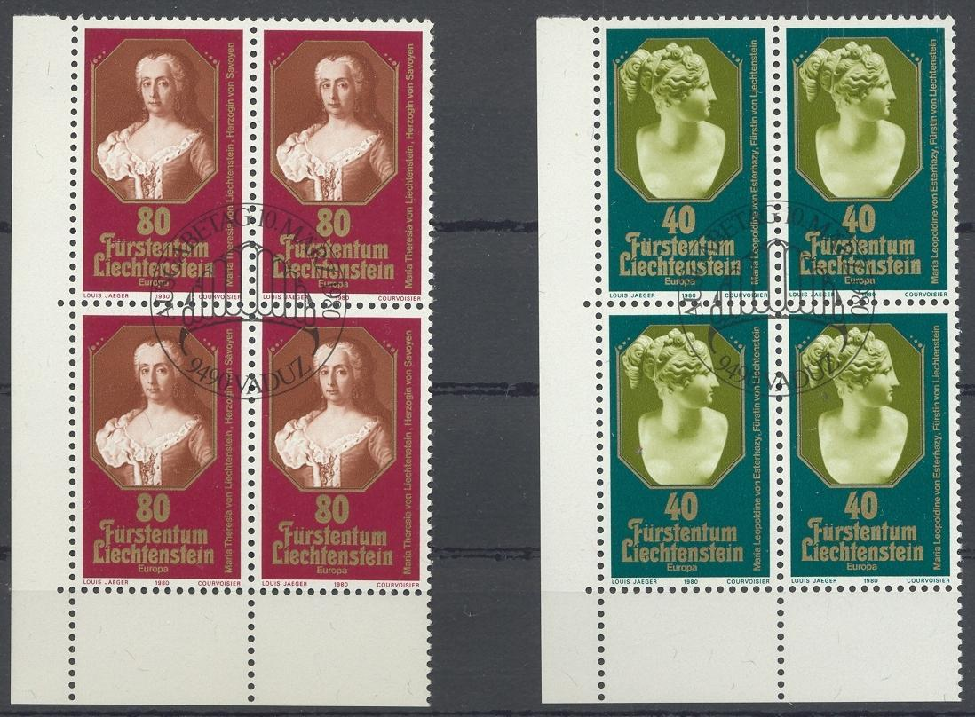 Stamps with Europe CEPT from Liechtenstein (image for product #032190)