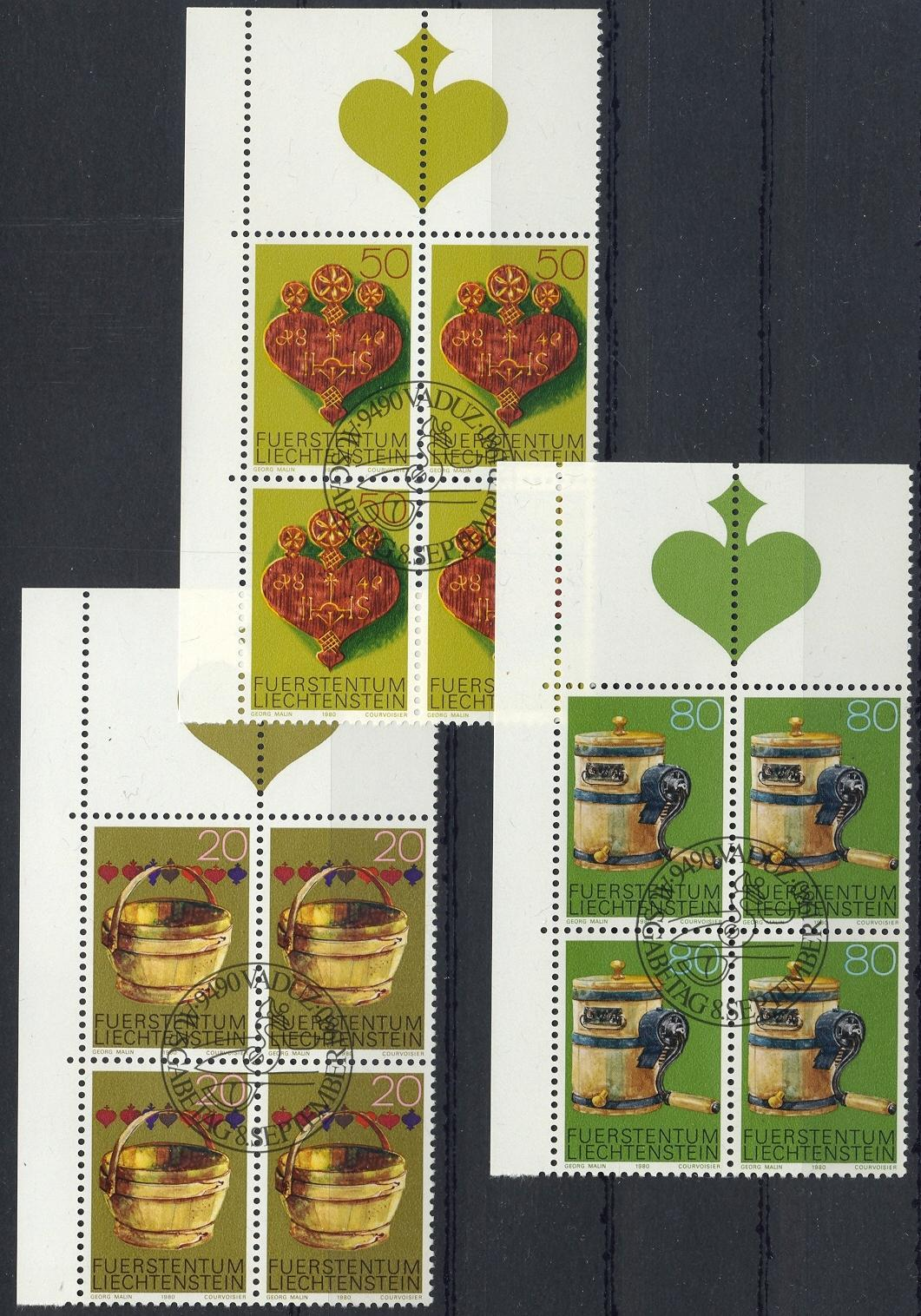 Stamps with Furniture from Liechtenstein (image for product #032193)