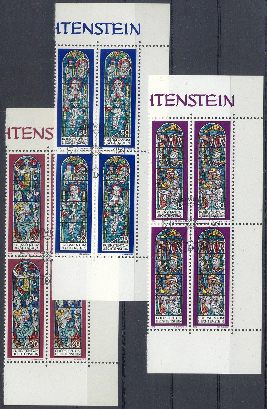 Stamps with Window, Christmas from Liechtenstein (image for product #032202)