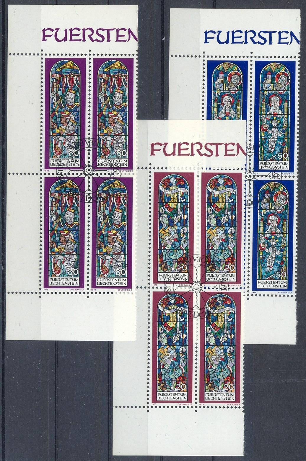Stamps with Christmas, Window from Liechtenstein (image for product #032203)