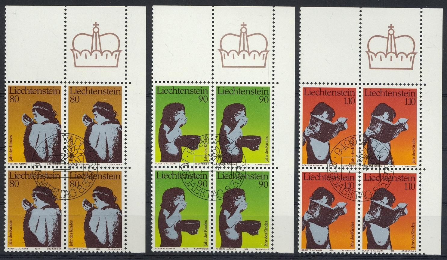 Stamps with Child Year of from Liechtenstein (image for product #032205)