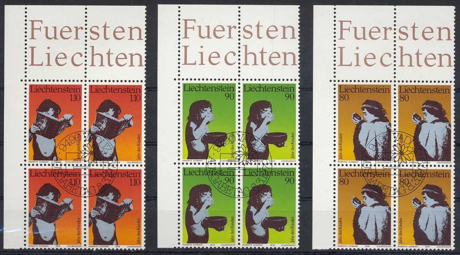 Stamps with Child Year of from Liechtenstein (image for product #032206)