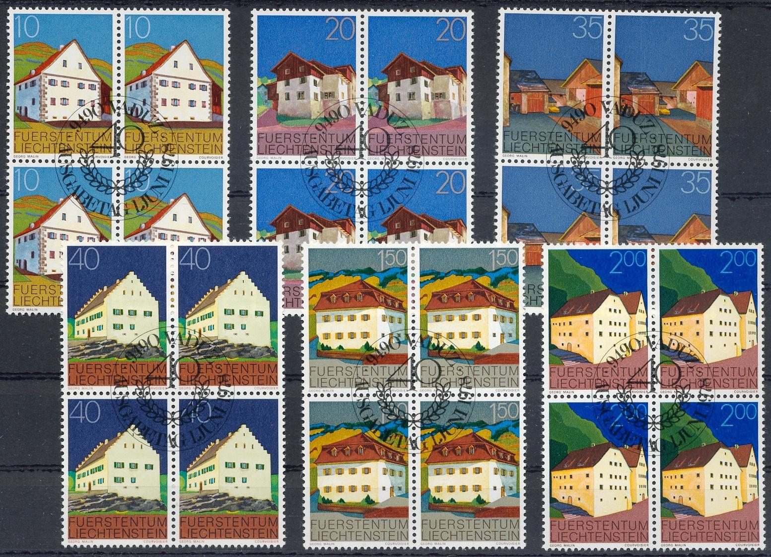 Stamps with Architecture from Liechtenstein (image for product #032215)