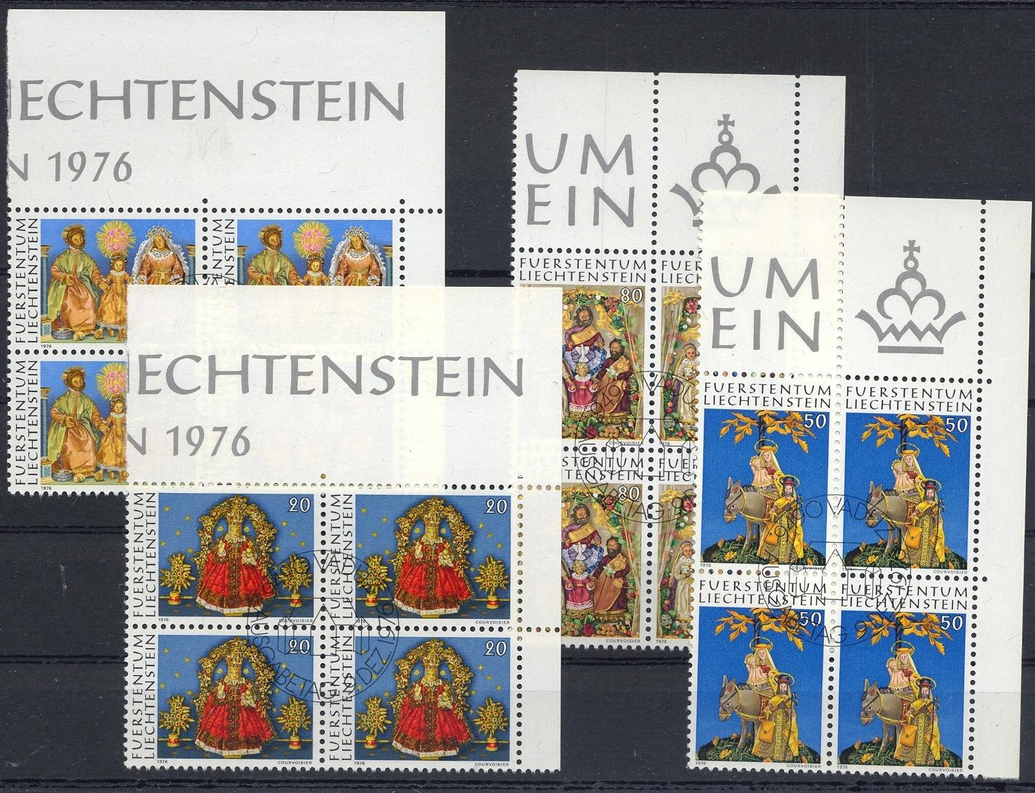 Stamps with Christmas from Liechtenstein (image for product #032225)